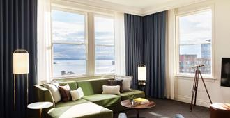 西雅图亚历克西斯皇家索内斯塔酒店 - 西雅图 - 客厅