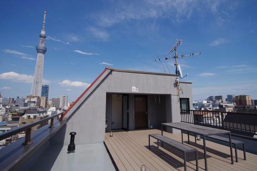 富士橡树青年旅舍 - 东京 - 阳台