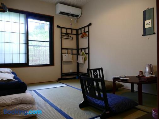 东山之宿 缘侧 - 京都 - 客厅