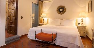 卡拉斯马纳尼塔斯酒店 - 库埃纳瓦卡 - 睡房