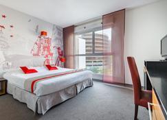 斯特拉斯堡威尔逊拉格朗日公寓式酒店 - 斯特拉斯堡 - 睡房