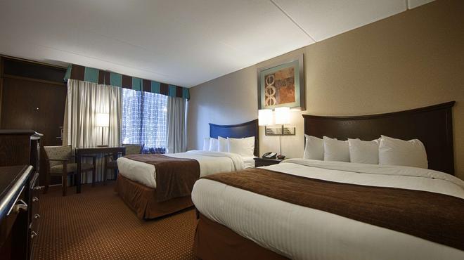奥尔巴尼机场贝斯特韦斯特必住Plus酒店 - 奥尔巴尼 - 睡房