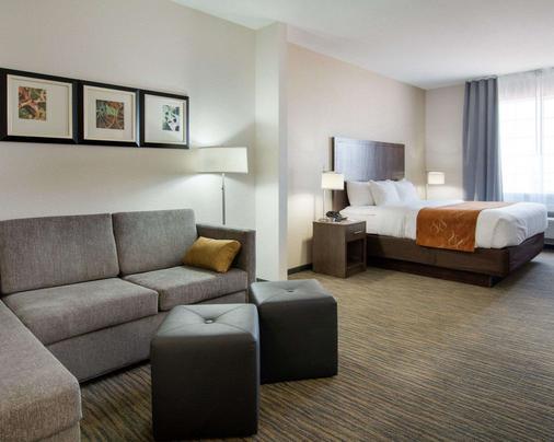 圣安杰罗大学附近凯富套房酒店 - 圣安杰罗 - 睡房
