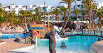 H10套房兰萨罗特岛花园度假酒店 - 科斯塔特吉塞 - 游泳池