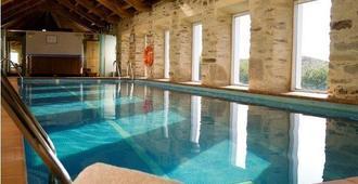 圣弗朗西斯科纪念碑酒店 - 圣地亚哥-德孔波斯特拉 - 游泳池