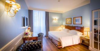 西太大酒店 - 都灵 - 睡房