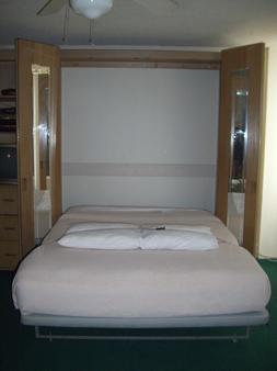 库西欧悦酒店 - 檀香山 - 睡房