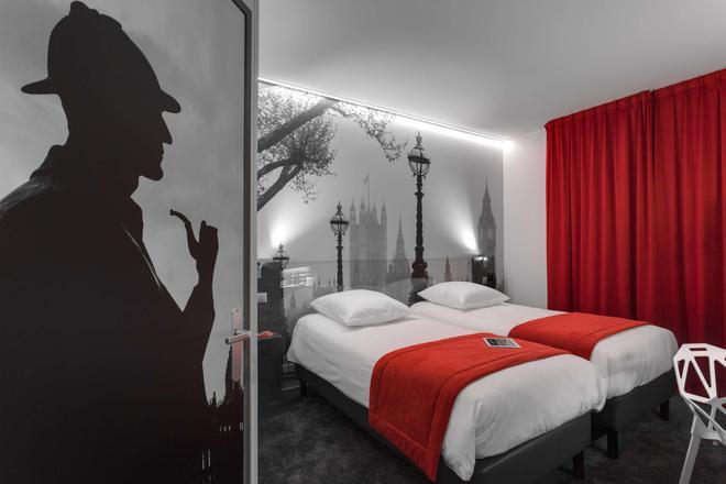 凯里亚德酒店-雷恩中心 - 雷恩 - 睡房