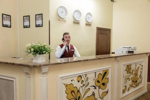 莫塔沙卡酒店 - 莫斯科 - 柜台