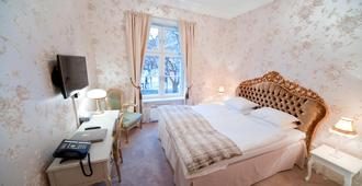 角落酒店及宾馆 - 斯德哥尔摩 - 睡房