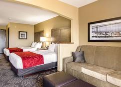 哥伦比亚河康福特套房酒店 - 阿斯托里亚 - 睡房