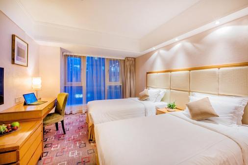 粵海酒店 - 香港 - 睡房