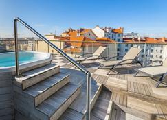 里昂卢米埃拉格朗日城市酒店 - 里昂 - 游泳池