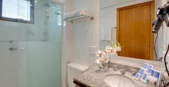 阿雷格里港千禧蓝树酒店 - 阿雷格里港 - 浴室