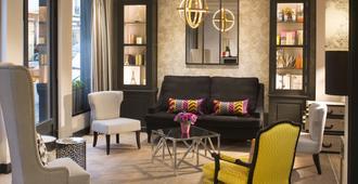 古斯塔夫酒店 - 巴黎 - 客厅