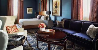 摩纳哥盐湖城金普顿酒店 - 盐湖城 - 睡房