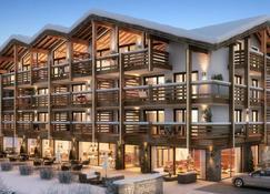 艾尔分出租卡普伦24阿威尼达酒店及公寓 - 卡普伦 - 建筑