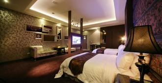 杜拜风情时尚旅馆 - 台中 - 睡房