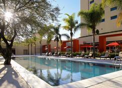 阿瓜斯卡连特斯万豪酒店 - 阿瓜斯卡连特斯 - 游泳池
