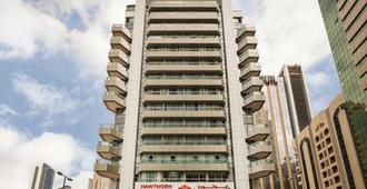 阿布扎比市中心温德姆豪顿套房酒店 - 阿布扎比 - 建筑