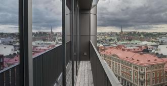 六点酒店 - 斯德哥尔摩 - 阳台