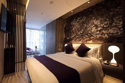 香港紫珀酒店 - 香港 - 睡房