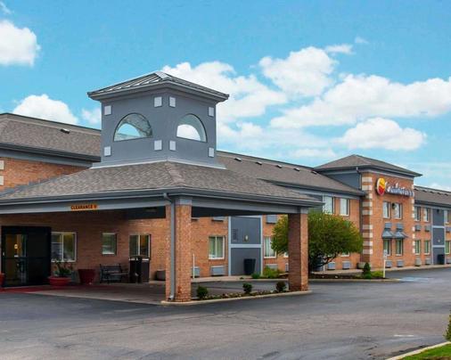 印第安纳波利斯康福特茵酒店 - 印第安纳波利斯 - 建筑