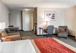 印第安纳波利斯康福特茵酒店 - 印第安纳波利斯 - 睡房