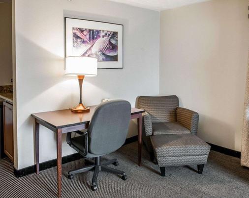 印第安纳波利斯康福特茵酒店 - 印第安纳波利斯 - 客厅