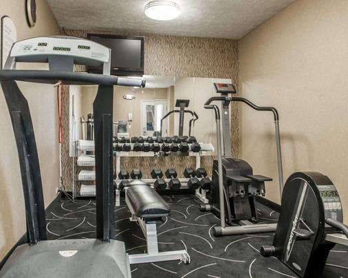 印第安纳波利斯康福特茵酒店 - 印第安纳波利斯 - 健身房