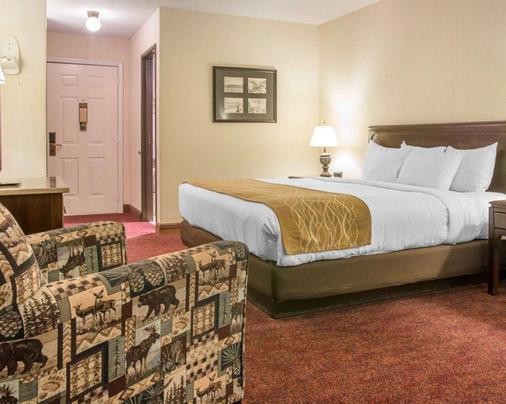 麦基诺城湖畔舒适驿站酒店 - 麦基诺城 - 睡房