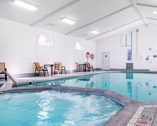 麦基诺城湖畔舒适驿站酒店 - 麦基诺城 - 游泳池