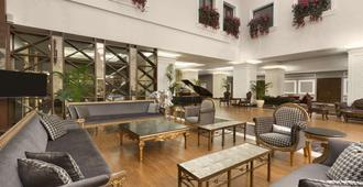 伊斯坦布尔梅尔特尔温德姆华美达套房酒店 - 伊斯坦布尔 - 休息厅