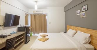 宝石园公寓酒店 - 曼谷 - 睡房
