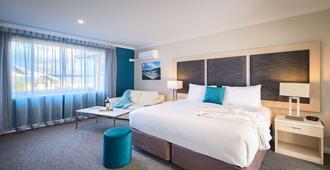 贝斯特韦斯特阿贝尼汽车旅馆兼酒店式公寓 - 奥尔巴尼 - 睡房