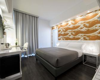 蒙特斯特拉酒店 - 萨莱诺 - 睡房
