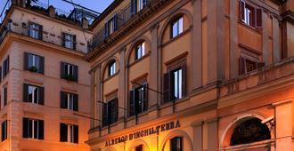 丹吉尔特拉酒店 - 罗马 - 建筑