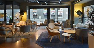 布鲁塞尔欧盟万怡酒店 - 布鲁塞尔 - 休息厅