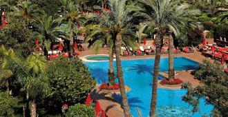 索菲特马拉喀什酒廊和Spa酒店 - 马拉喀什 - 游泳池