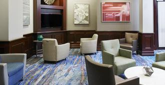 波士顿俱乐部住宅酒店 - 波士顿 - 休息厅