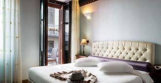 纳夫普利翁科威利套房酒店 - 纳夫普利翁 - 睡房