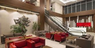 伊斯坦布尔拜拉姆贝沙华美达安可酒店 - 伊斯坦布尔 - 休息厅