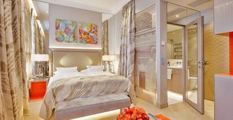达斯蒂罗尔小型豪华酒店 - 维也纳 - 睡房