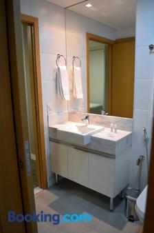 维勒塞莱斯蒂纳活动公寓式酒店 - 贝洛奥里藏特 - 浴室