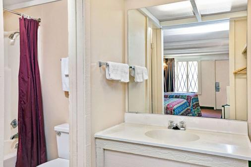 西弗吉尼亚州查尔斯顿骑士旅馆 - 查尔斯顿 - 浴室