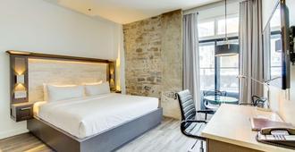 魁北克皇家港景酒店 - 魁北克市 - 睡房