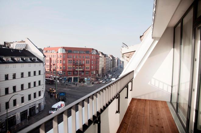 罗森塔尔公寓式酒店 - 柏林 - 阳台