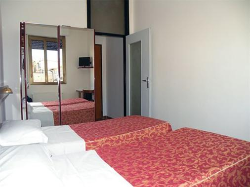 维尔吉利奥酒店 - 米兰 - 睡房