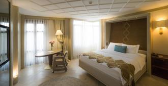 伊斯坦布尔米加公寓酒店 - 伊斯坦布尔 - 睡房