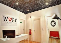 我们爱F游客酒店 - 里斯本 - 柜台
